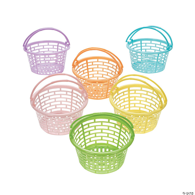 Pastel Round Easter Baskets Audio Thumbnail