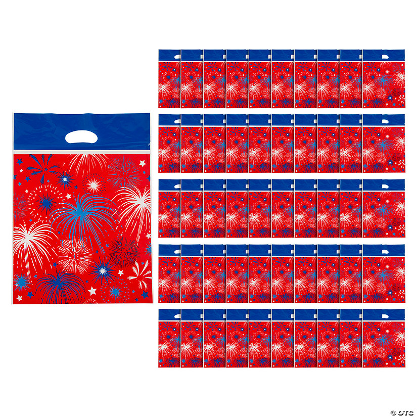 Patriotic Burst Parade Goody Bags