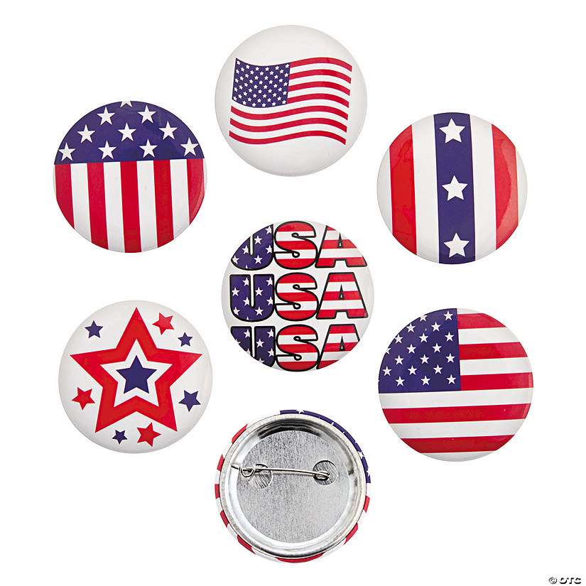 Patriotic Buttons Audio Thumbnail