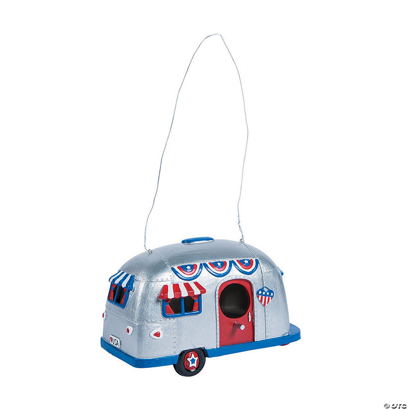 Patriotic Camper Birdhouse Audio Thumbnail