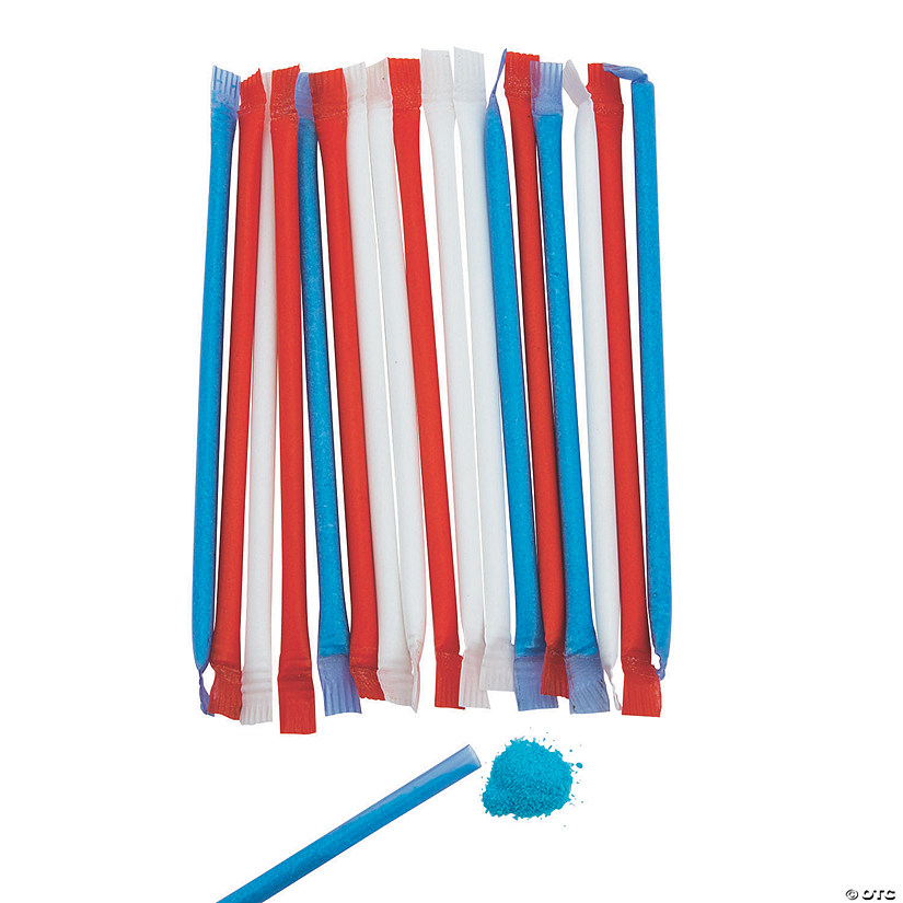 Patriotic Candy-Filled Straws Audio Thumbnail