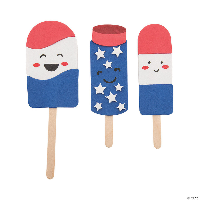 Patriotic Cool Treats Craft Stick Magnet Craft Kit Audio Thumbnail