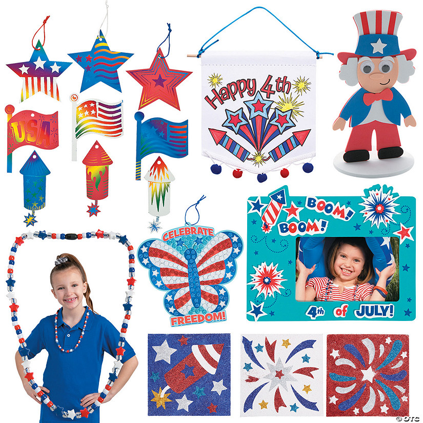 Patriotic Craft Boredom Buster Kit Image Thumbnail