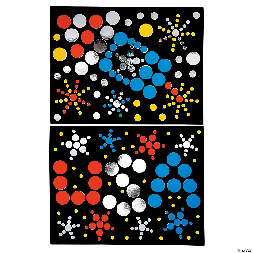 Patriotic Dot Sticker Art Sheets Audio Thumbnail