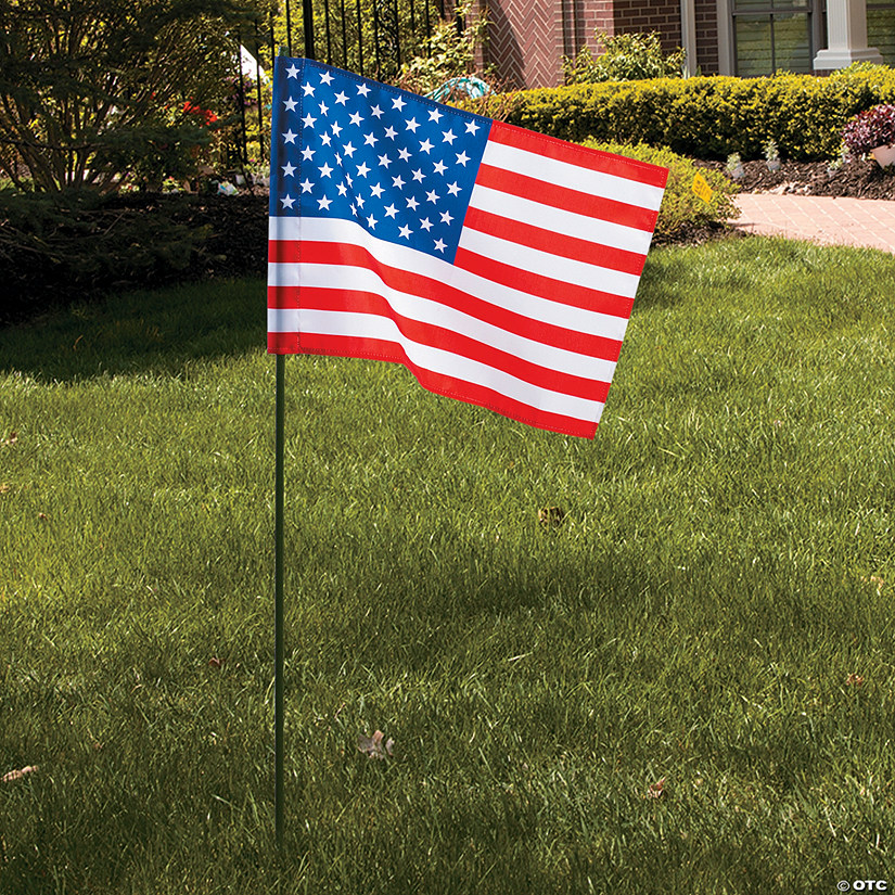 "Patriotic Garden Flag - 13"" x 18 1/2"" - Less Than Perfect Audio Thumbnail"