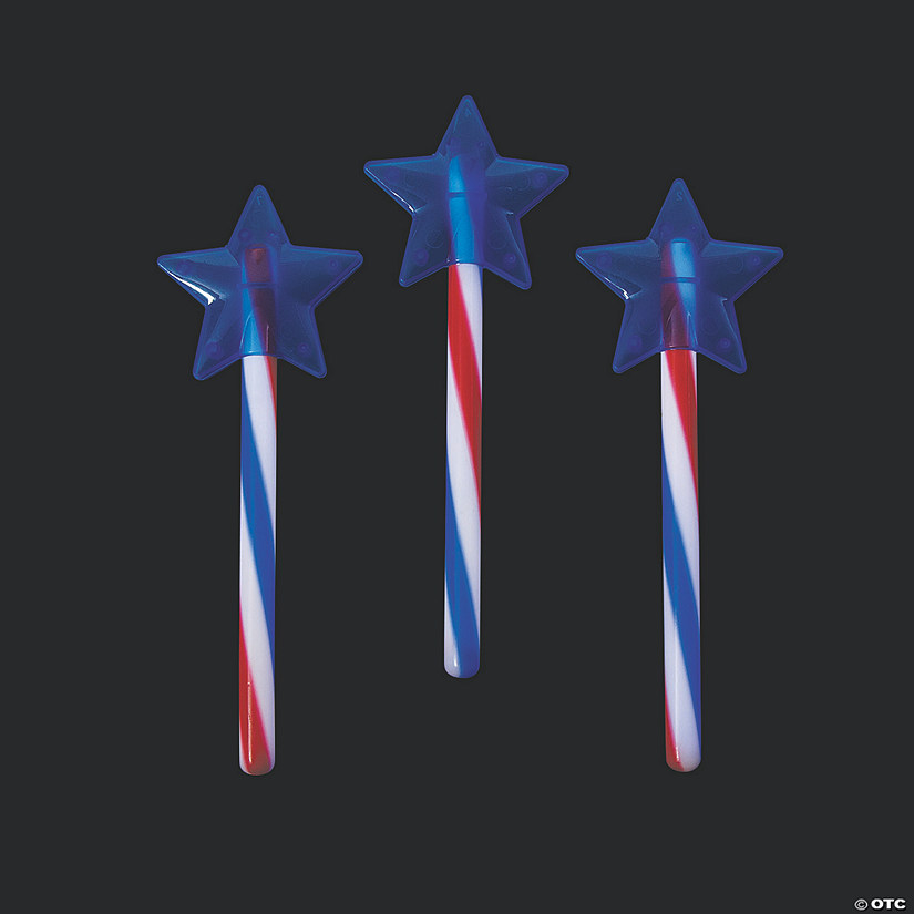 Patriotic Glow Swizzle Star Wand Audio Thumbnail