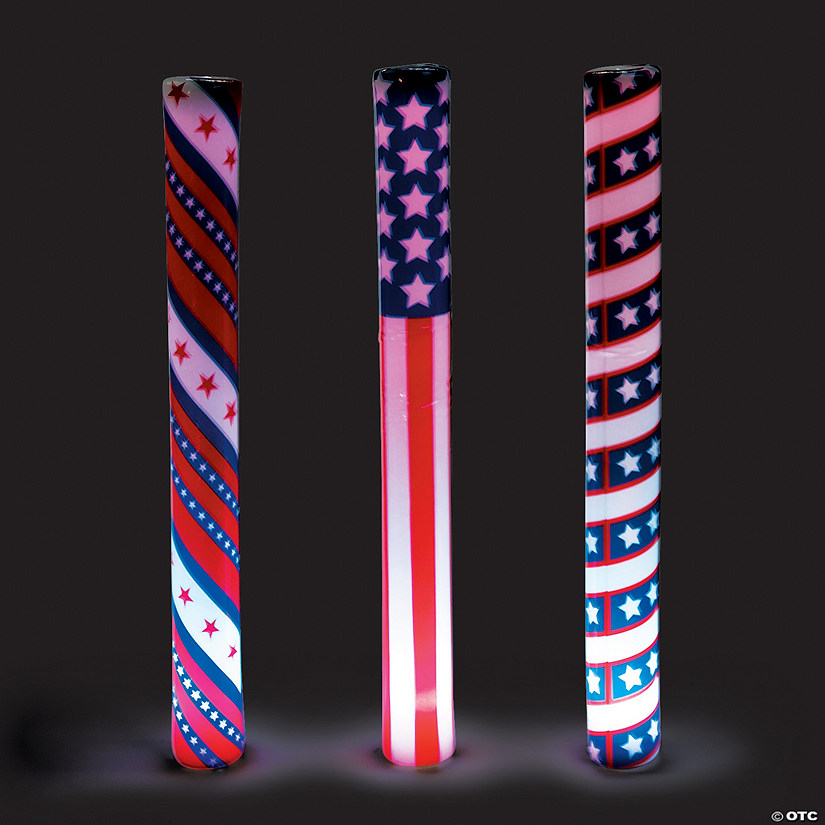 Patriotic Light-Up Batons Audio Thumbnail