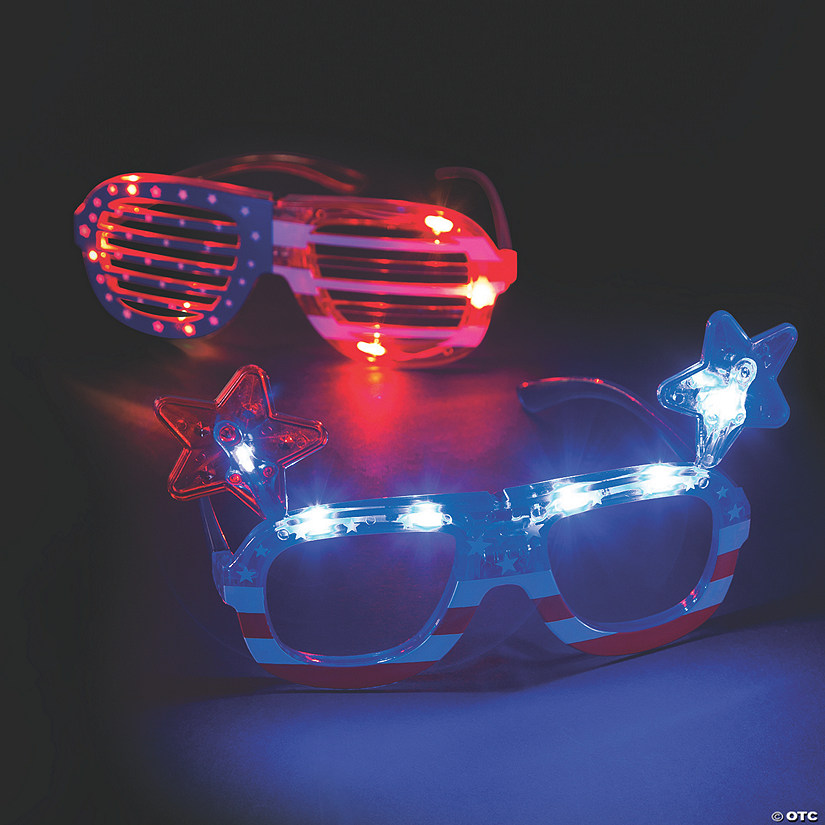 Patriotic Light-Up Glasses Audio Thumbnail