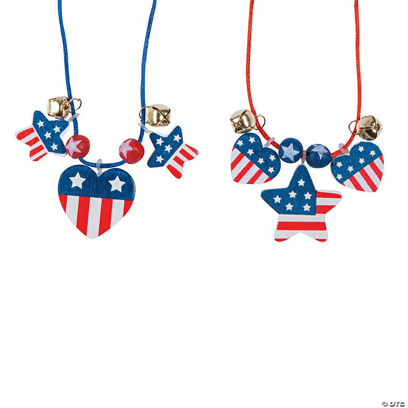 Patriotic Necklace Craft Kit Audio Thumbnail