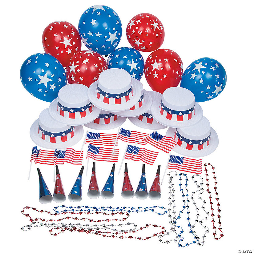 Patriotic Party Kit for 25 Image Thumbnail