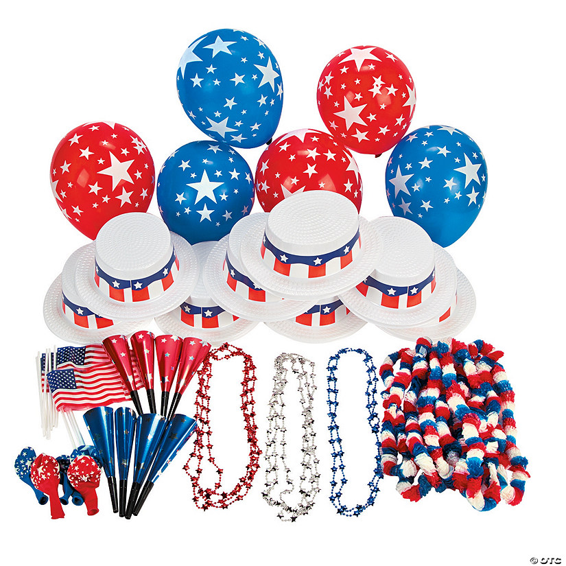 Patriotic Party Kit For 50 Image Thumbnail