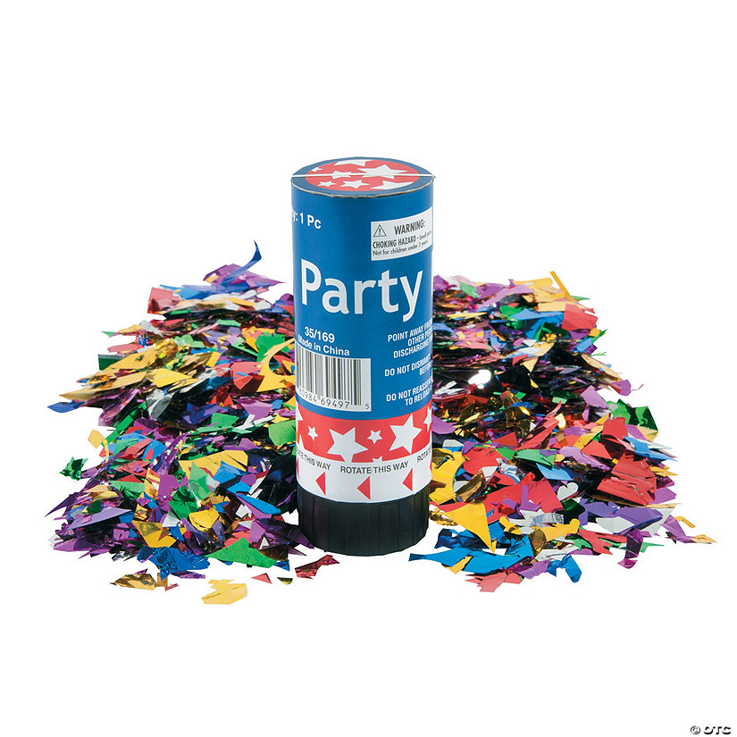 Patriotic Party Poppers Image Thumbnail