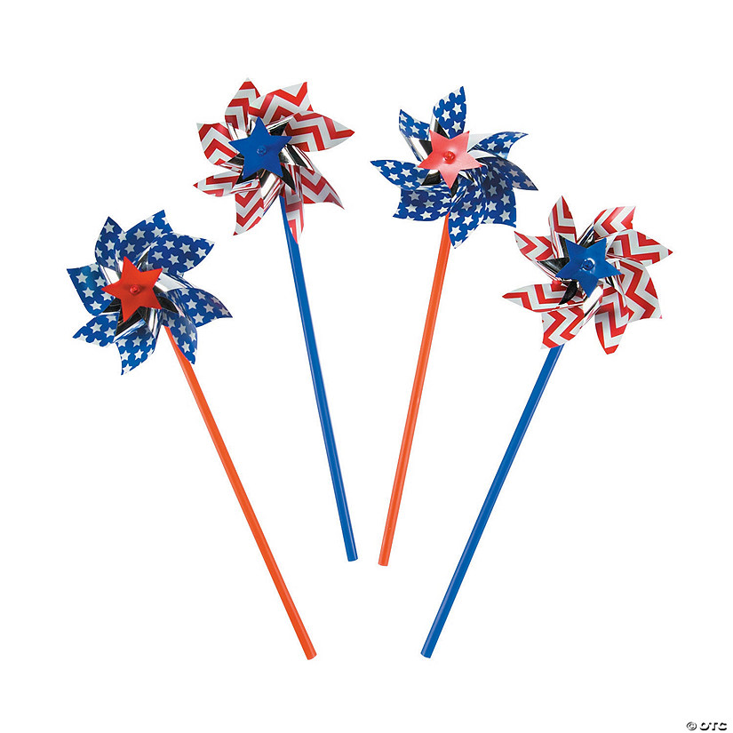 Patriotic Pinwheels - 36 Pc. Audio Thumbnail