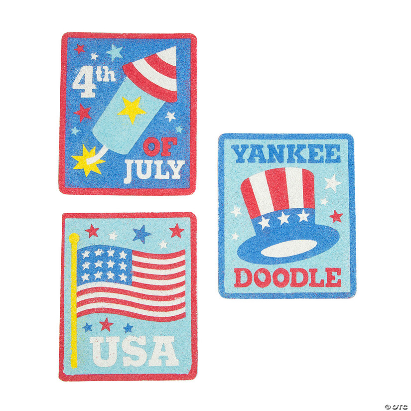 Patriotic Sand Art Pictures