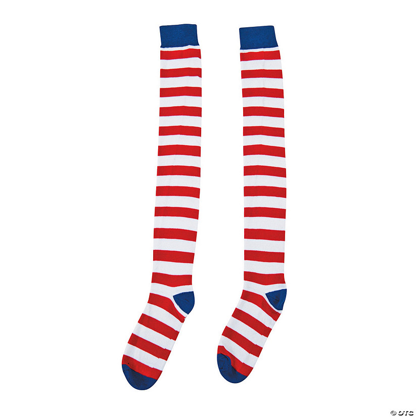 Patriotic Striped Socks