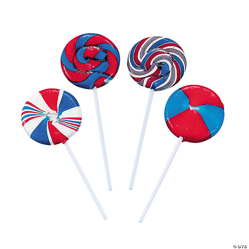 Patriotic Swirl Lollipops Audio Thumbnail
