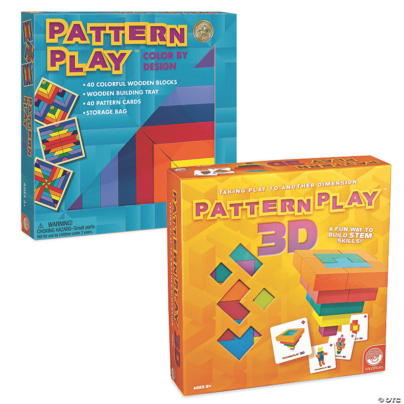 Pattern Play & Pattern Play 3D Set of 2 Image Thumbnail