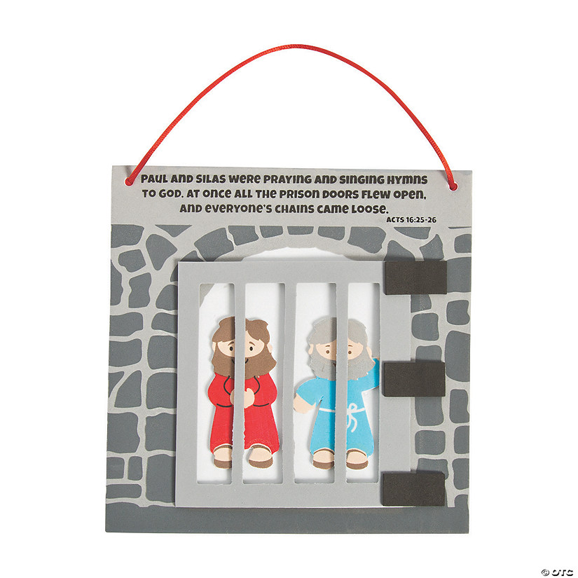 Paul & Silas in Prison Craft Kit