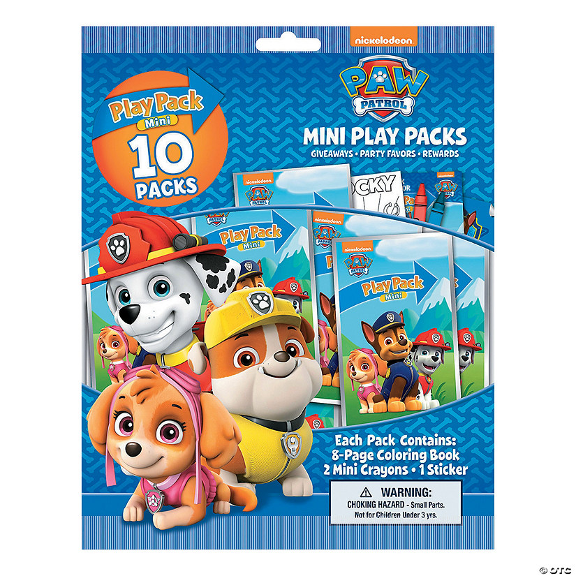 Paw Patrol™ Mini Stationery Play Packs Audio Thumbnail