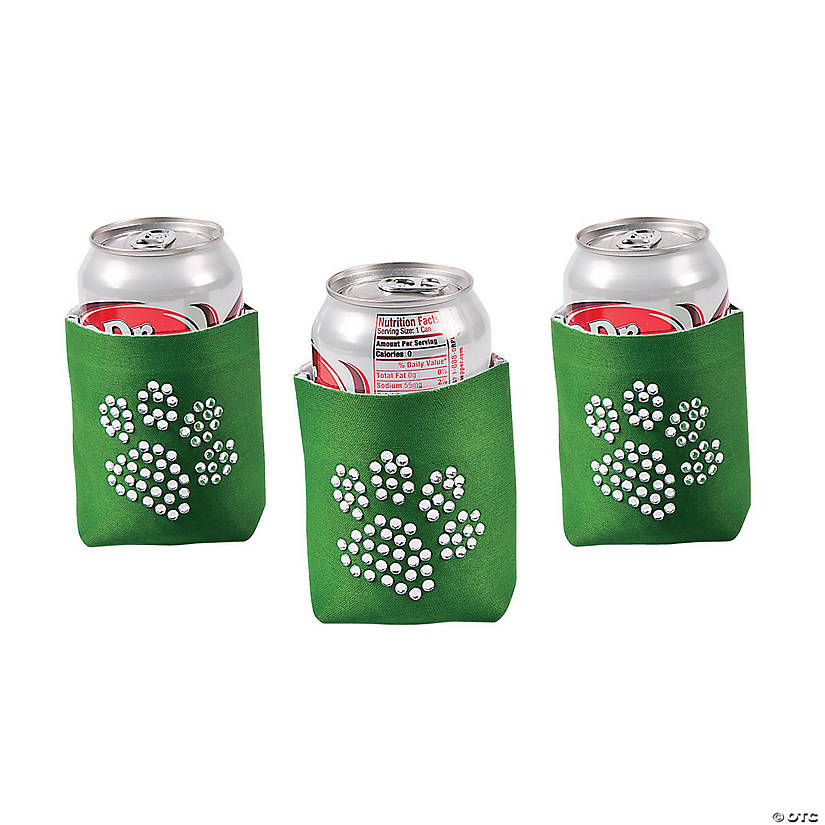 Paw Print Bling Green Can Coolers Audio Thumbnail