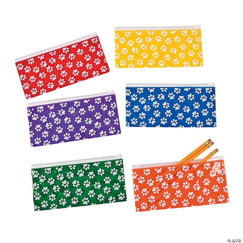 Paw Print Pencil Cases Audio Thumbnail