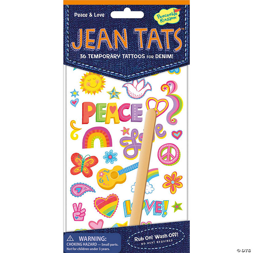 Peace & Love Jean Tats Pack Audio Thumbnail