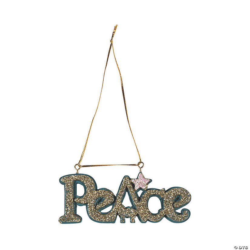 Peace Nativity Ornaments Audio Thumbnail