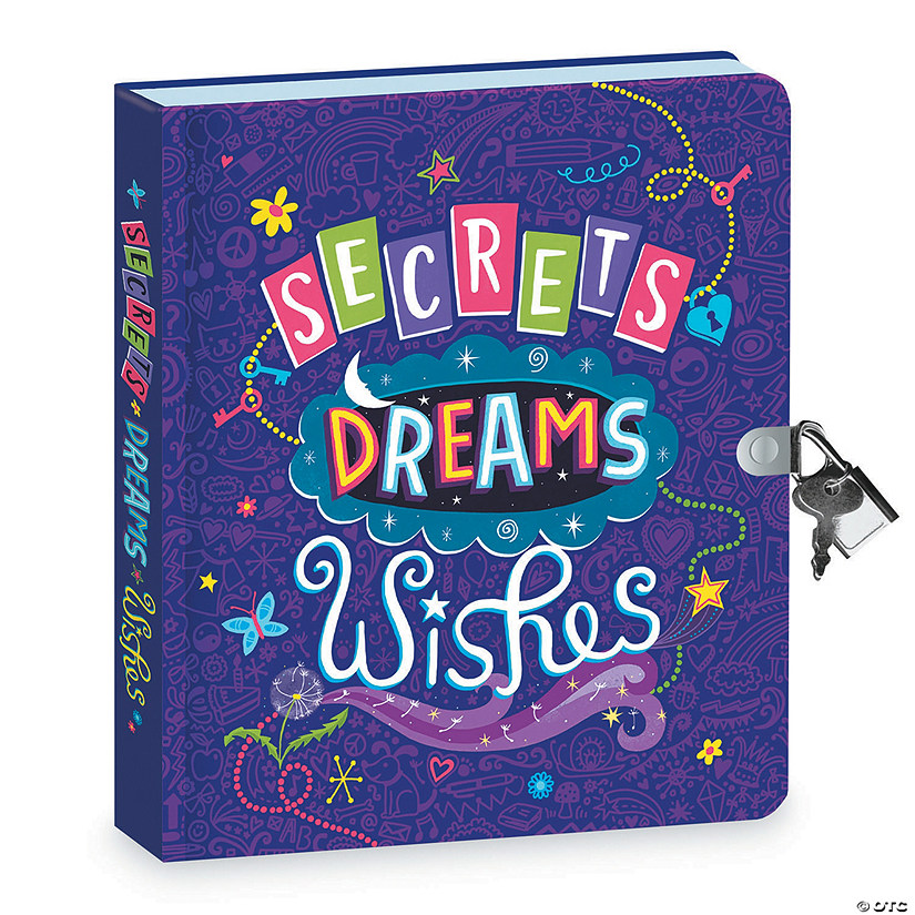 Peaceable Kingdom Secrets, Dreams, Wishes Diary Image Thumbnail