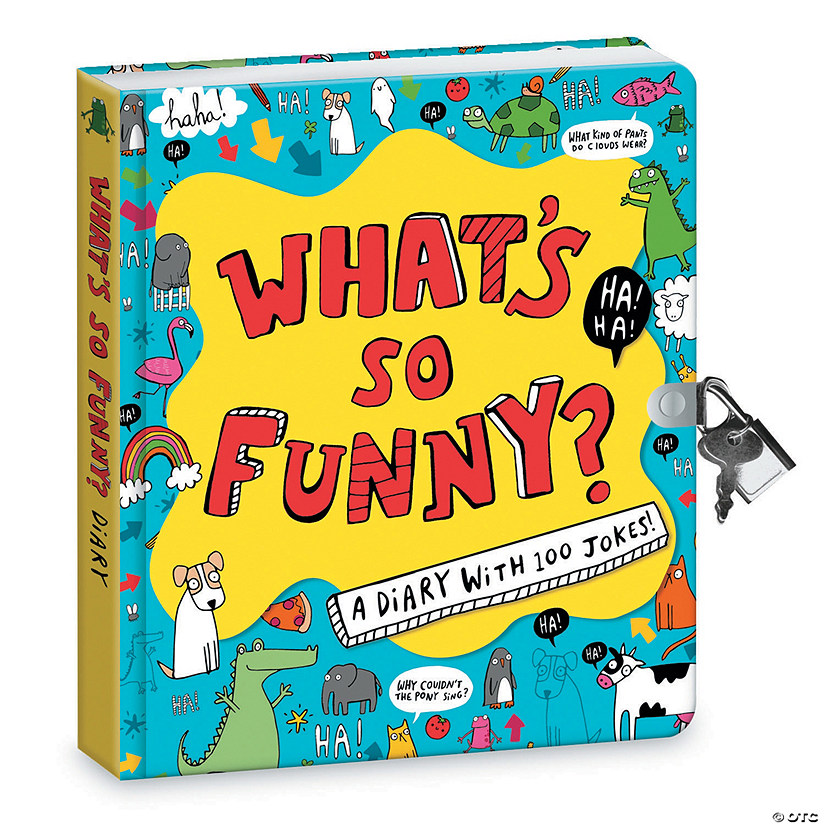 Peaceable Kingdom What's So Funny Diary (Jokes Reveal Diary) Image Thumbnail