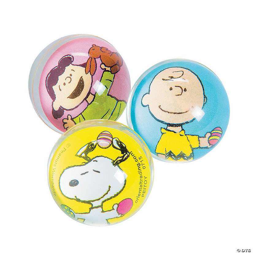 Peanuts® Easter Bouncy Ball Assortment