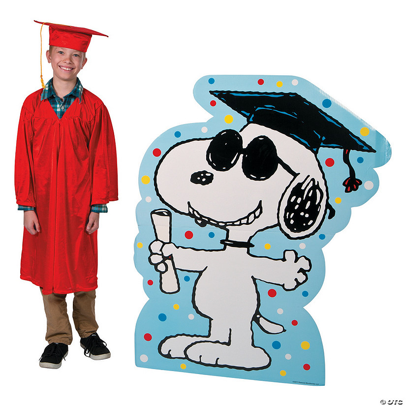 Peanuts® Graduation Stand-Up Audio Thumbnail