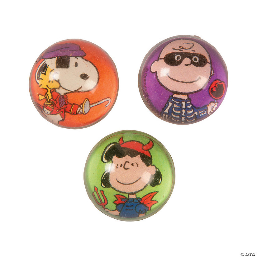 Peanuts® Halloween Bouncy Ball Assortment