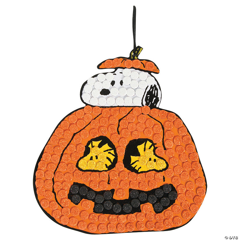 Peanuts® Halloween Glitter Mosaic Craft Kit