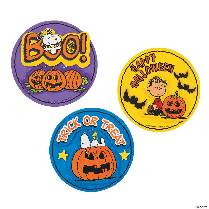 Peanuts® Halloween Magnet Craft Kit Audio Thumbnail