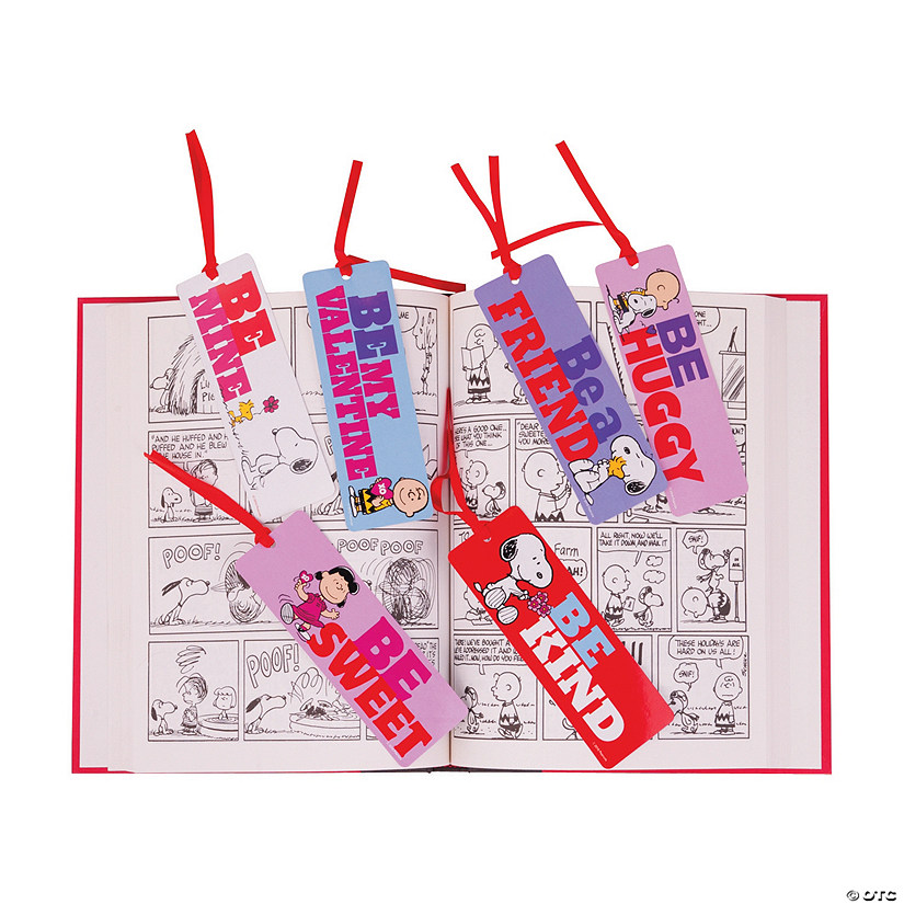 Peanuts<sup>&#174;</sup> Valentine Bookmarks Audio Thumbnail