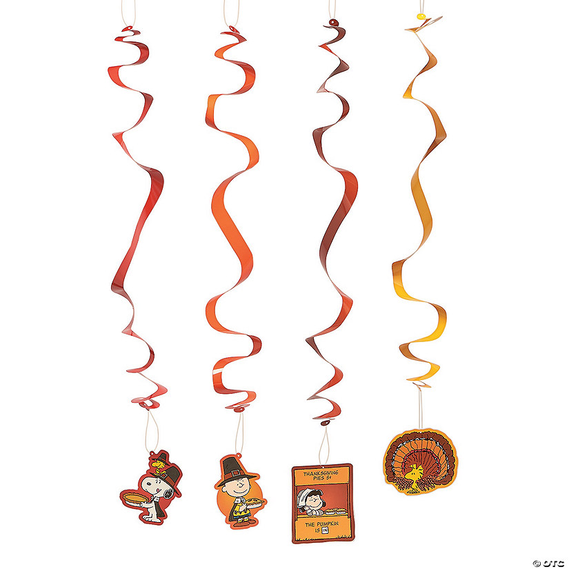 Peanuts® Thanksgiving Hanging Swirls