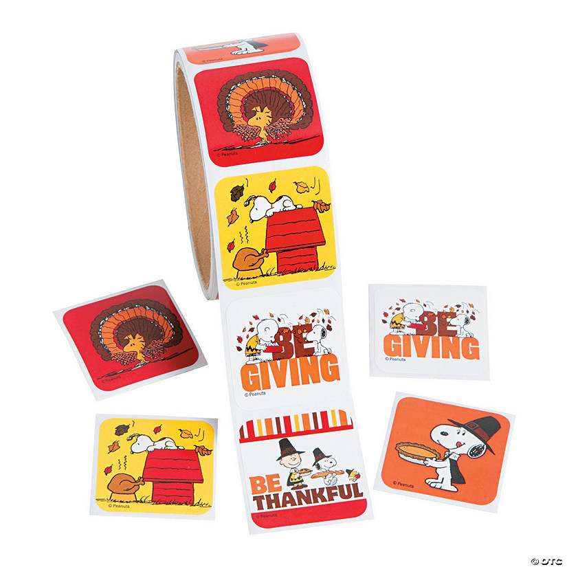 Peanuts® Thanksgiving Stickers Audio Thumbnail