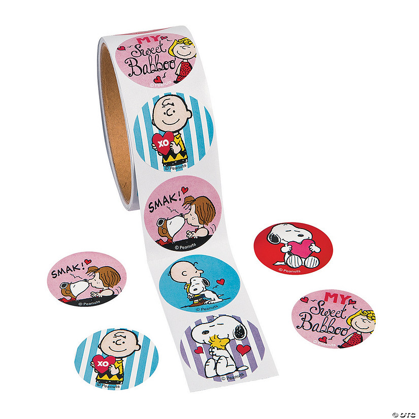 Peanuts® Valentine Stickers Audio Thumbnail