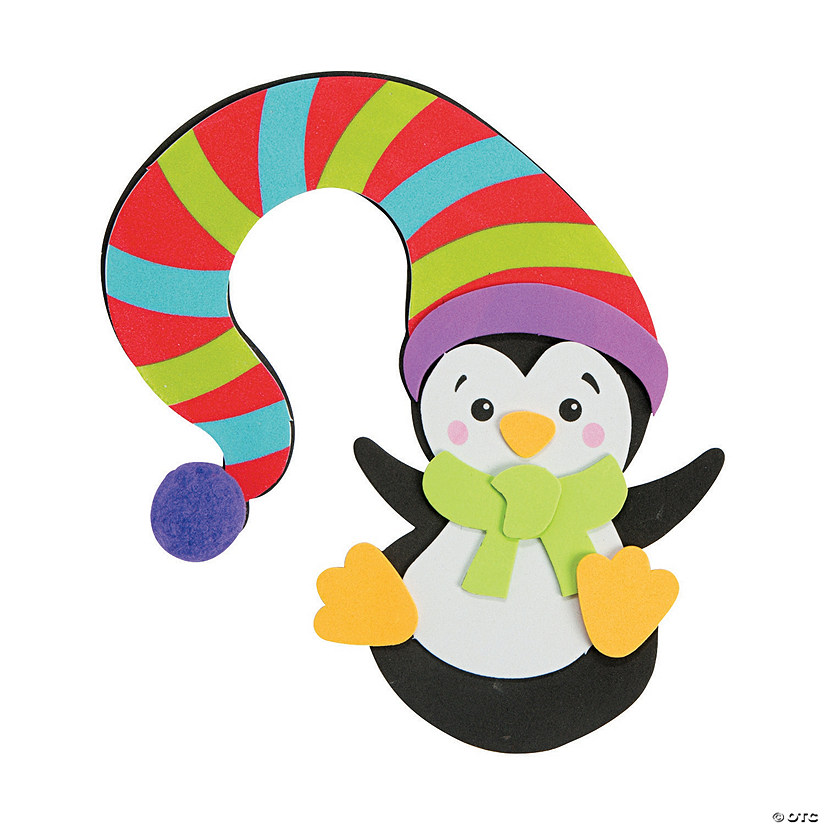 Penguin with Hat Doorknob Hanger Craft Kit Audio Thumbnail