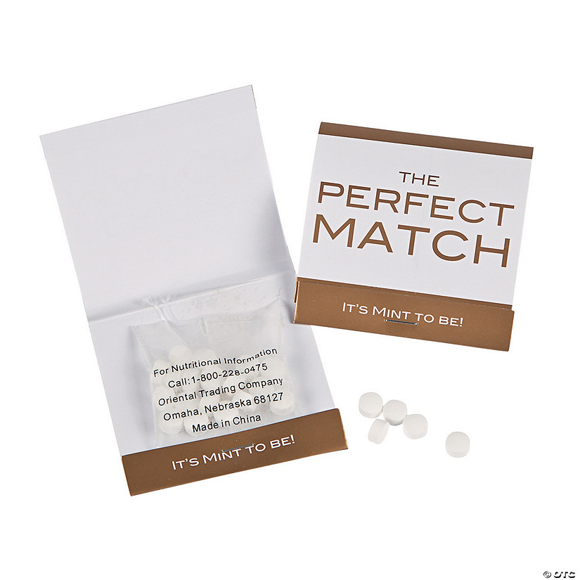 Perfect Match Matchbook Mints Audio Thumbnail