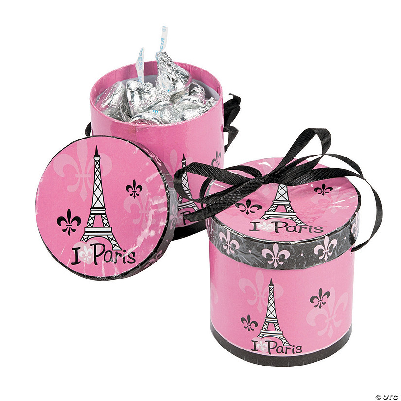 Perfectly Paris Hat Favor Boxes Audio Thumbnail