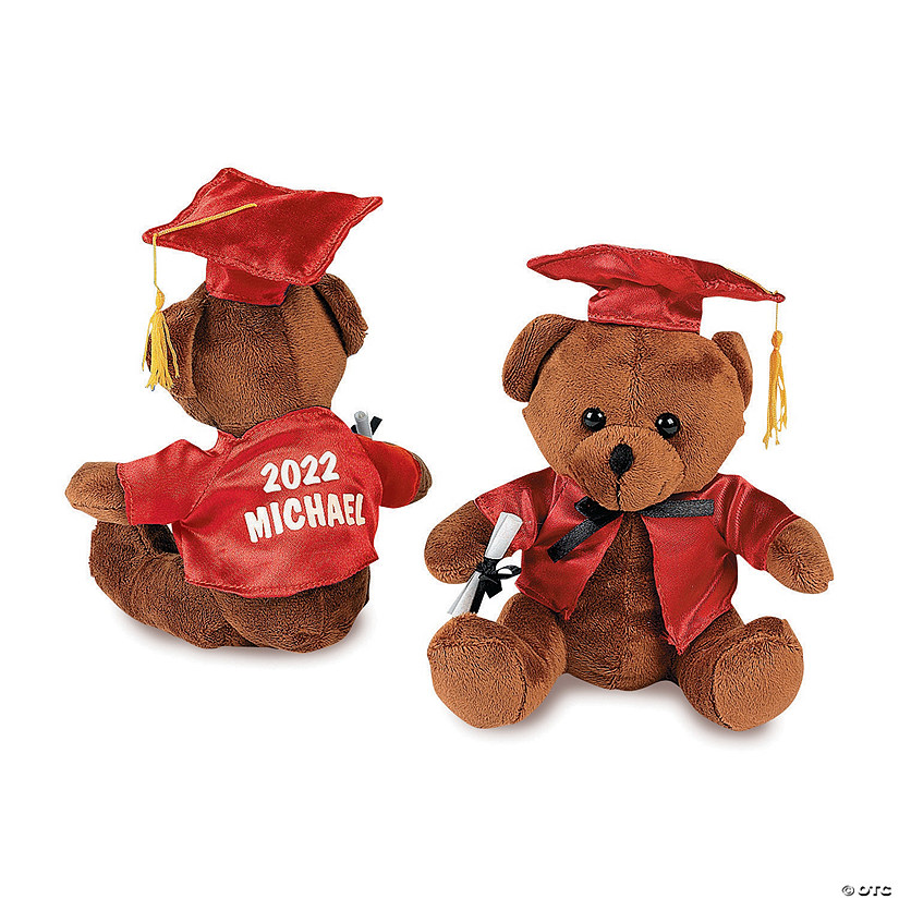 Personalized Graduation Stuffed Bears Audio Thumbnail
