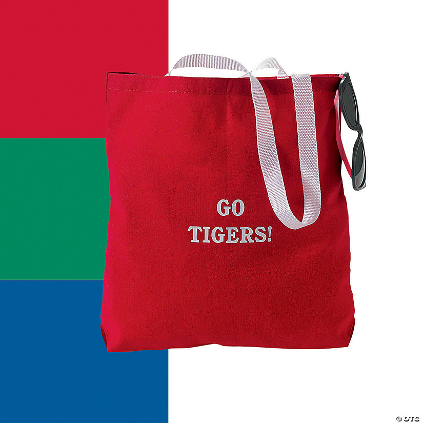 Personalized Medium Canvas Tote Bags Audio Thumbnail