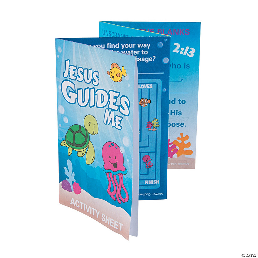 Philippians 2:13 Fold-Up Activity Sheets - Discontinued
