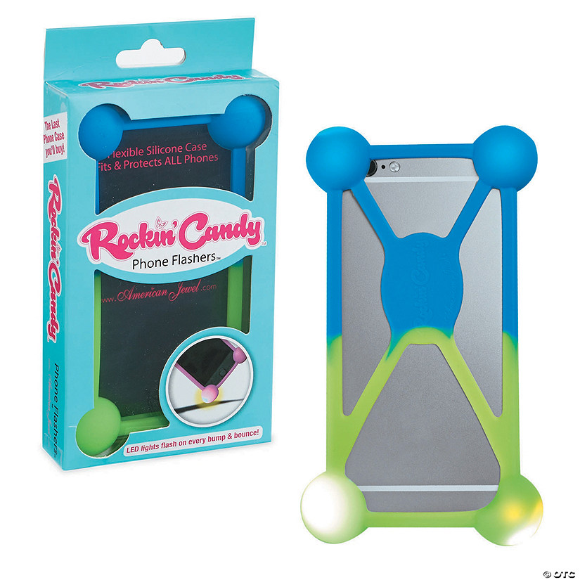 Phone Flasher Case: Blue/Green Image Thumbnail