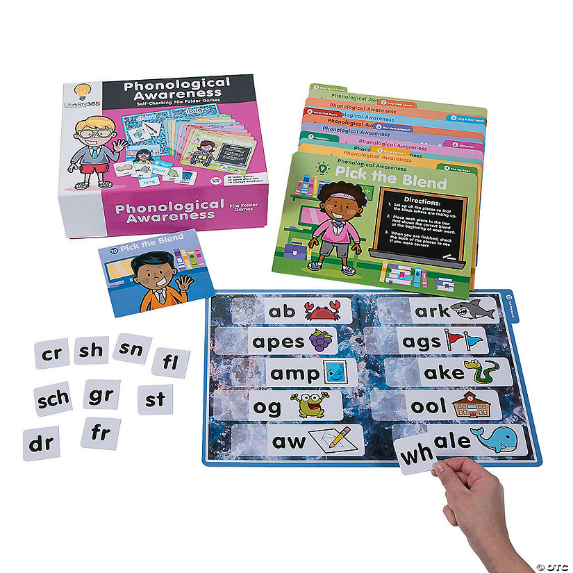 Phonological Awareness File Folder Games Audio Thumbnail