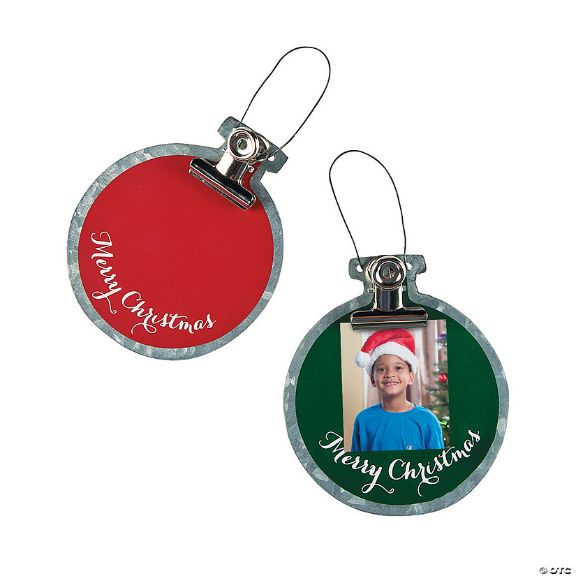 Photo Ornaments with Clip Image Thumbnail
