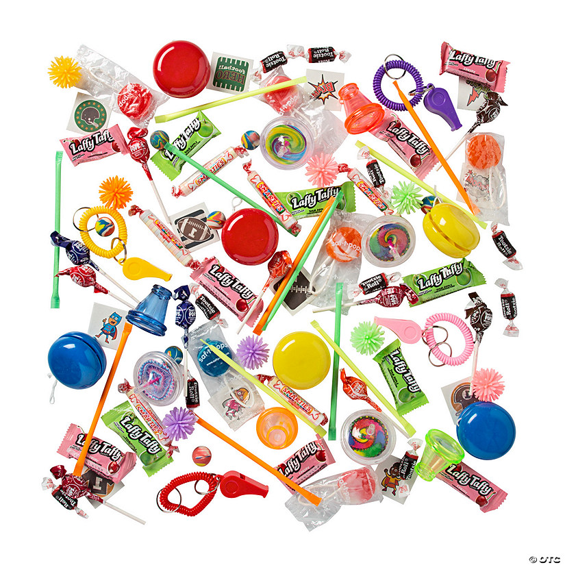 Piñata Toy & Candy Assortment Image Thumbnail