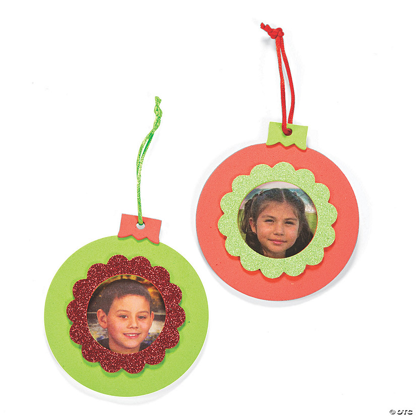 - Picture Frame Christmas Ornament Craft Kit