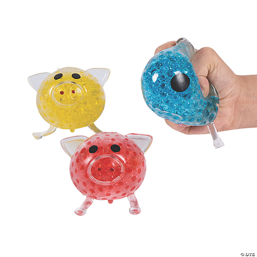 Pig Water Bead Squeeze Toys Audio Thumbnail